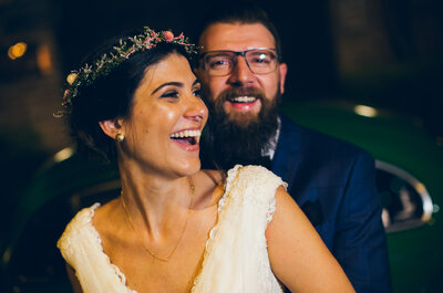 Mini Real Wedding in Brazil: Mariana + Renato - Intimate, Emotional and Written in the Stars