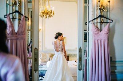 Decore o seu casamento com branco e rosa: o toque certo de romance e elegância