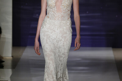 Reem Acra primavera 2016: Vestidos de novia que te harán sentir como estrella
