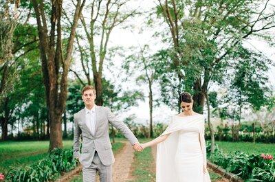 Casamento de Camila & Leandro: puro romantismo na fazenda Vila das Amoreiras!