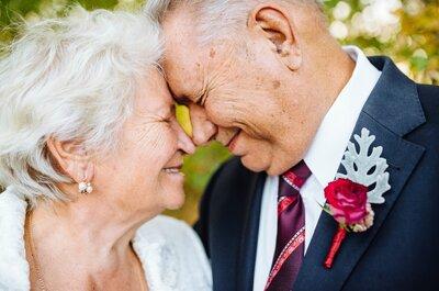 Вместе навсегда: годовщина 54-летия совместной жизни