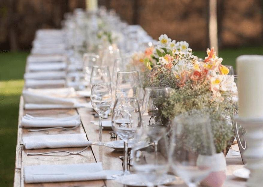 La organización y banquetería que hará tu matrimonio un éxito total