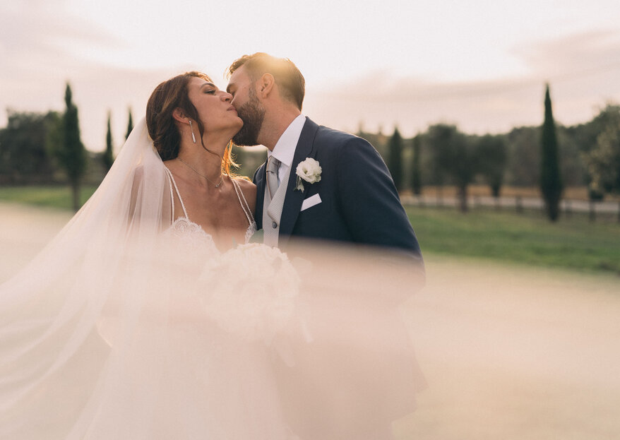 "The ""substance of dreams"" on Andrea and Silvia's big day"