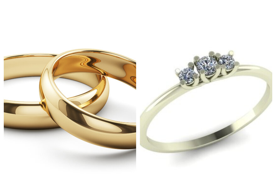 Zilver of goud, welke sieraden draag jij op je trouwdag?