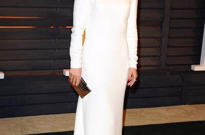 Premios Oscar 2015: inspírate con estos looks de alfombra roja para tu vestido de novia