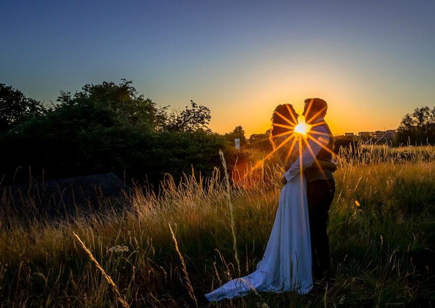 De romantische en minimalistische bruiloft van Tim en Maren!