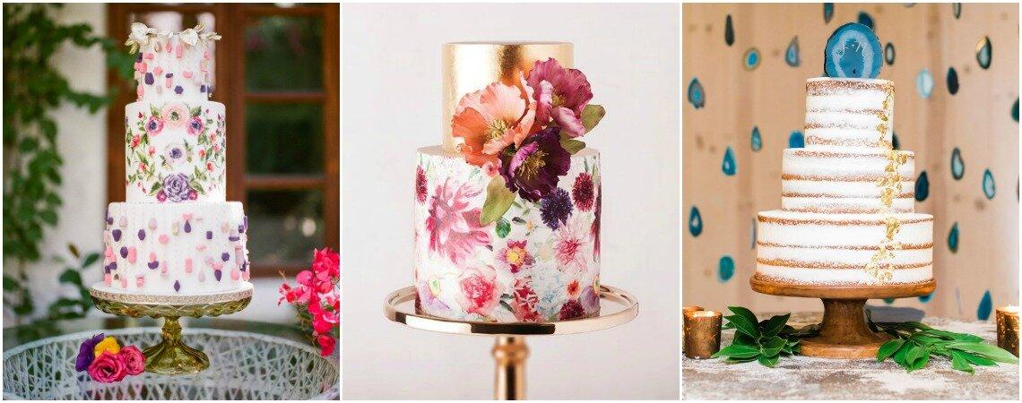 Tortas de boda: tendencias para el momento más dulce de tu vida