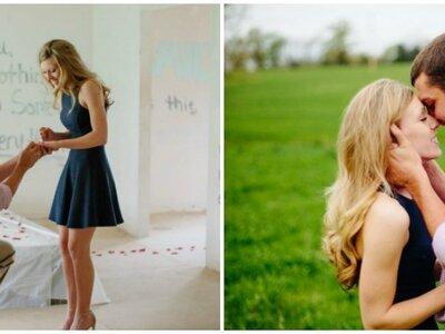 Pour demander en mariage sa petite amie, cet amoureux a peint tous les murs de leur maison! Attention émotion!