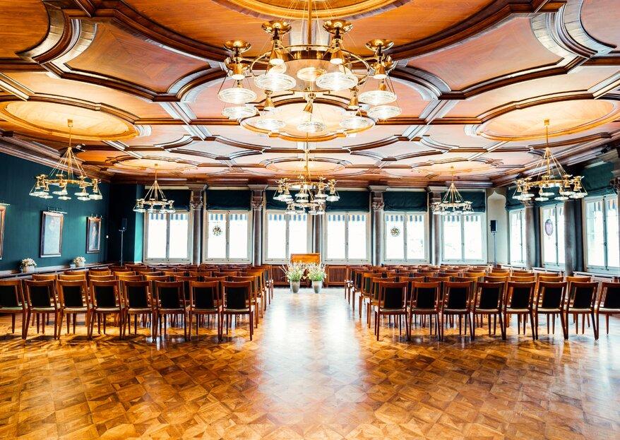 Geben Sie sich das Jawort in einer freien Zeremonie mitten im Herzen von Zürich!
