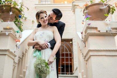 Espaços perfeitos para um elopment wedding romântico e inesquecível!