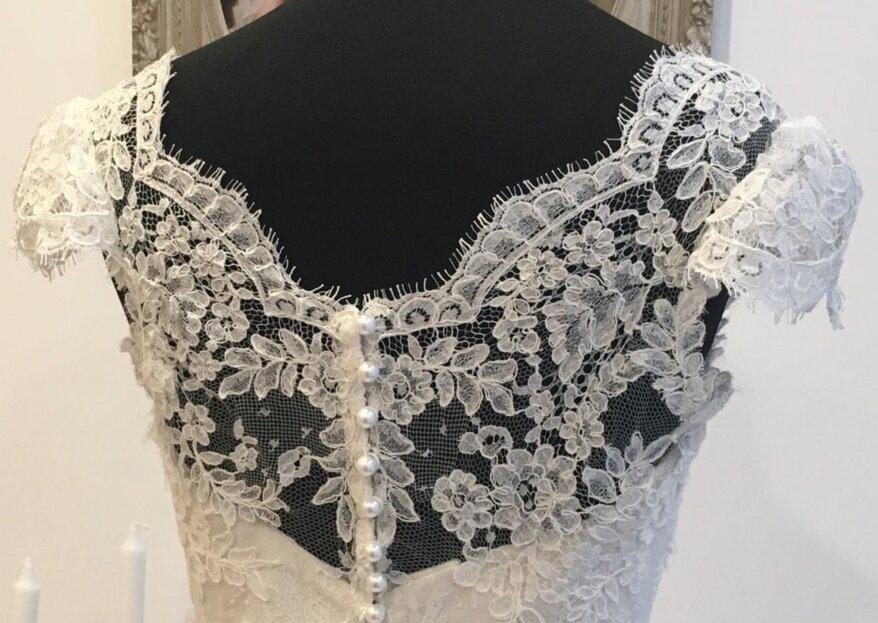 Féminines, élégantes et empreintes de caractère : place aux robes de mariée Agnès Szabelewski