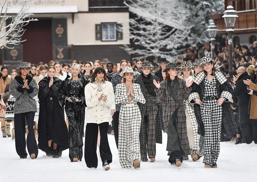 Desfile Chanel outono-inverno 2019-2020 na Paris Fashion Week: o adeus emocionante a Karl Lagerfeld