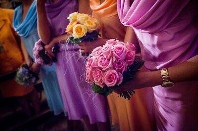 L'arcobaleno dell'invitata di nozze: dicci che colore hai scelto e ti diremo come abbinarlo!