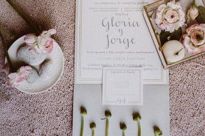 TODO sobre el diseño de las invitaciones de boda: Entrevista a Nancy Bedolla