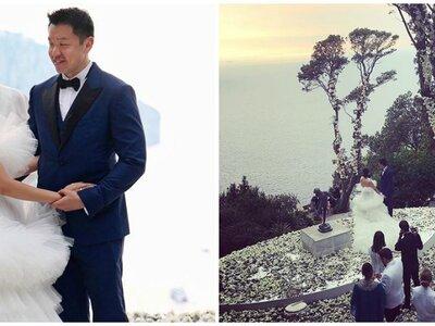 Una boda multimillonaria: tres días de ensueño en una isla paradisíaca