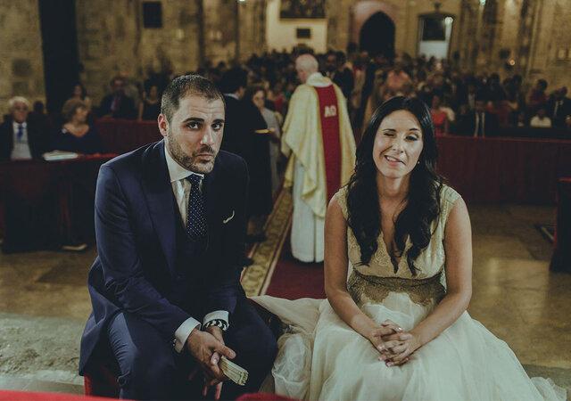 """La boda más original y divertida que jamás has visto: el """"sí, quiero"""" de Inma y Juan Carlos"""