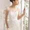 Свадебное платье с бантом Rosa Clará