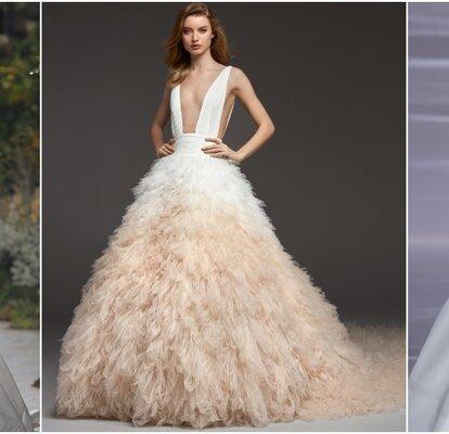 b504f4d6e Magníficos vestidos de novia con falda voluminosa: consigue un look ...