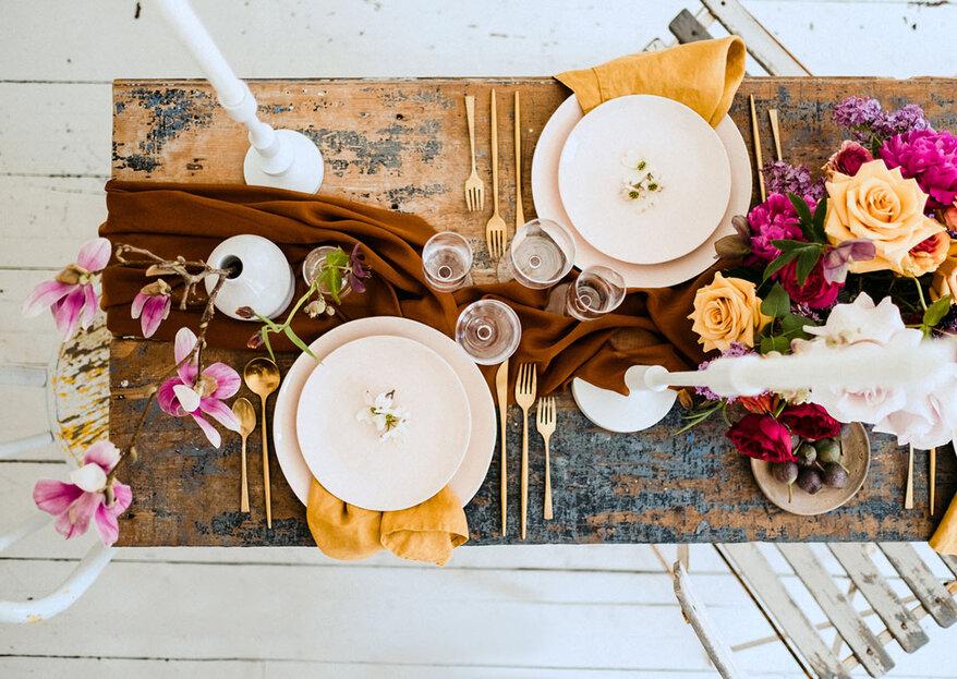 Cómo decorar tu boda en otoño. 5 tips prácticos y fáciles