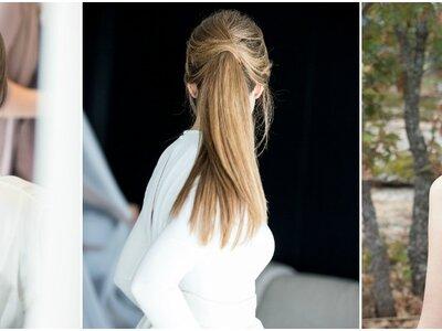 Peinados de novia con coleta de caballo 2017: Looks sensacionales