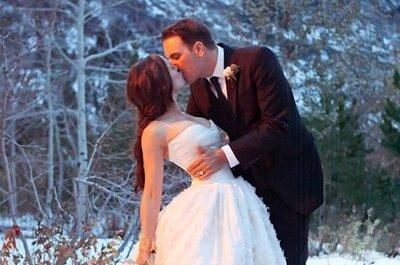How to plan a perfect winter wonderland wedding