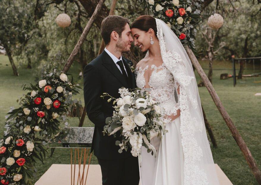 Ocho elementos de tu boda con diseño, explicados por MCM Wedding & Event Planner