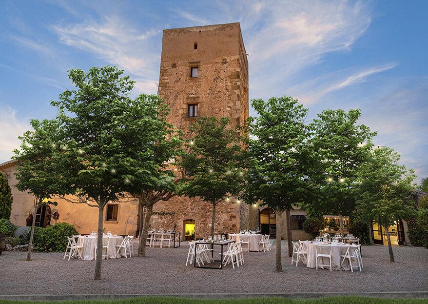 Masía Castellarnau es un viaje hacia la Edad Media desde la provincia de Barcelona