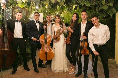¡Los momentos de tu boda que el violín hará mágicos!