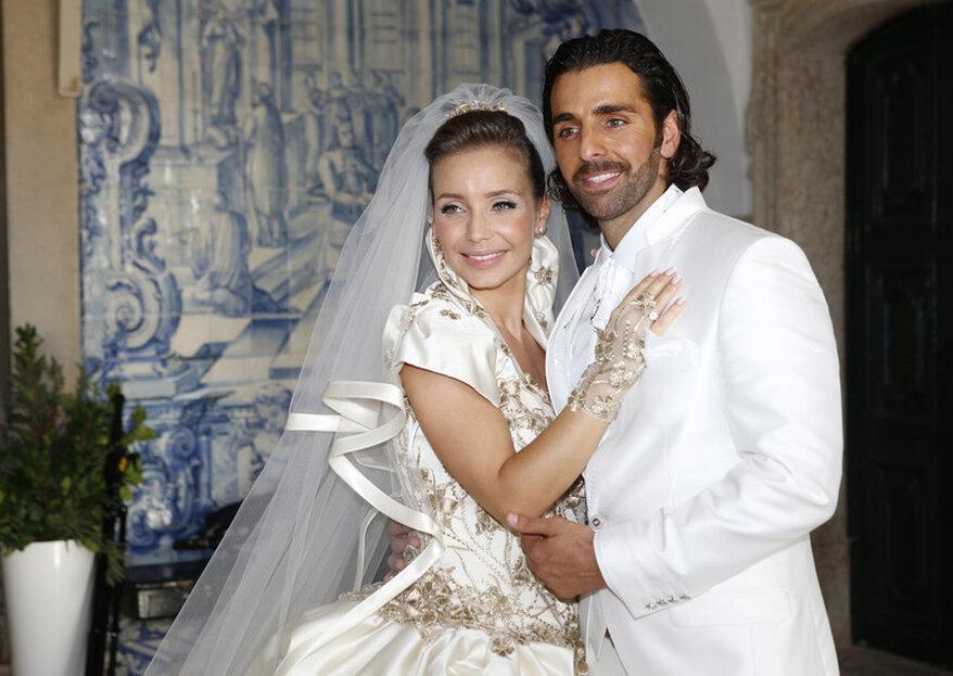 Luciana Abreu já casou!