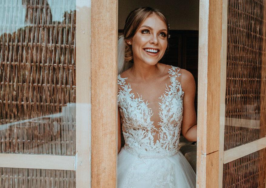 Tu vestido de novia debería ser una pieza única, asegura Gina Blanco Atelier