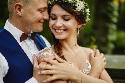 Ślub w plenerze oraz sesja w warszawskich Łazienkach Królewskich! Inspirujący i wspaniały reportaż!