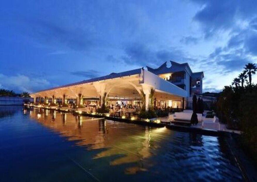 Savoy Beach Hotel: per le vostre nozze in riva al mare cilentano, con tutti i comfort di una location di design ed elegante