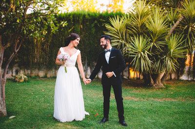 Una fiesta Erasmus fueel comienzo de unabonita historia: la boda de Alberto y Adela