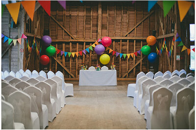 Bodas multicolor: dale vida a tu matrimonio con estas ideas