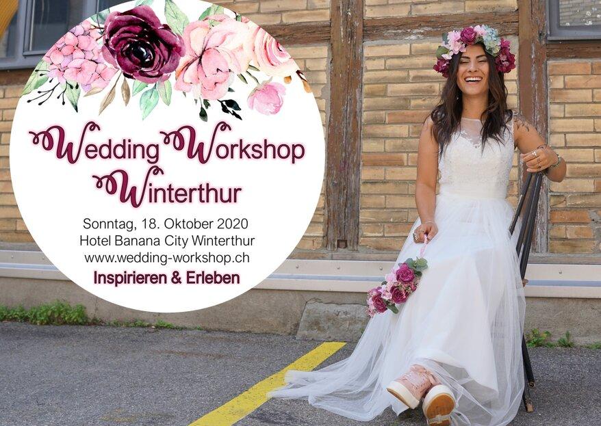 Der WeddingWorkshopWinterthur findet trotz Corona statt!