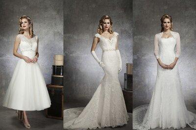 Robes de mariée rétro 2013 : Justin Alexander