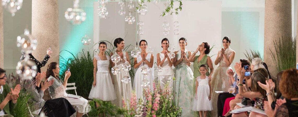 La Fiaba in una Bolla, l'incantevole collezione moda sposa di Chiara Vitale