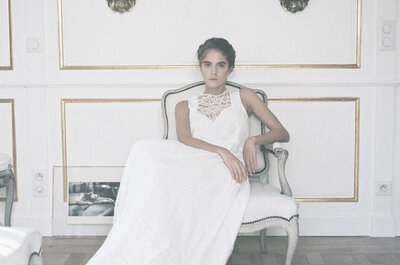 Robes de mariée Donatelle Godart 2016 : des créations romantiques et rêveuses