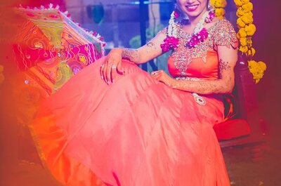 How to choose big floral swings for your mehndi ceremony