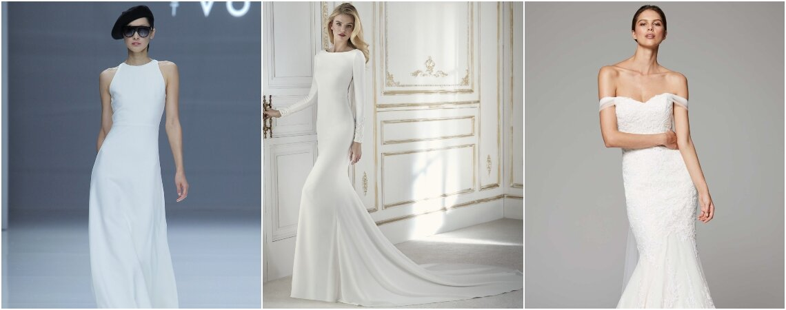 Simple Wedding Dresses: Find the Perfect Sophisticated Look