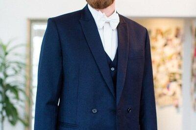 Wie sieht der perfekte Anzug für den Bräutigam aus? Mirko macht sich in dieser Woche auf die Suche!