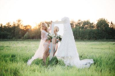 Утро невесты: будуарная съемка