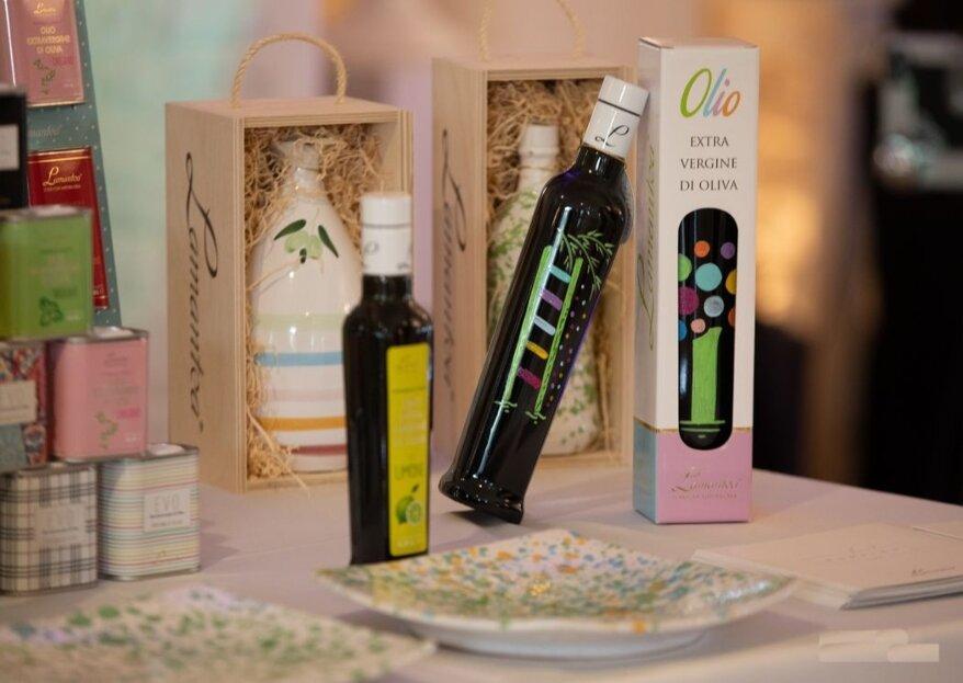 Per un regalo simbolo di ricchezza, prosperità e armonia, scegliete i prodotti esclusivi di Olio Lamantea