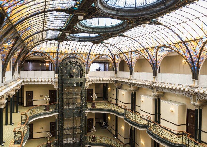 Gran Hotel Ciudad de México: bodas majestuosas que son todo un lujo