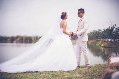 Angie y Romano, la mágica unión que nació del amor a primera vista