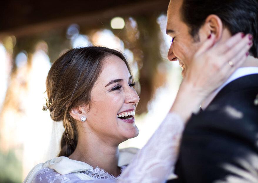 A pleno pulmón: la boda de Silvia e Ignacio