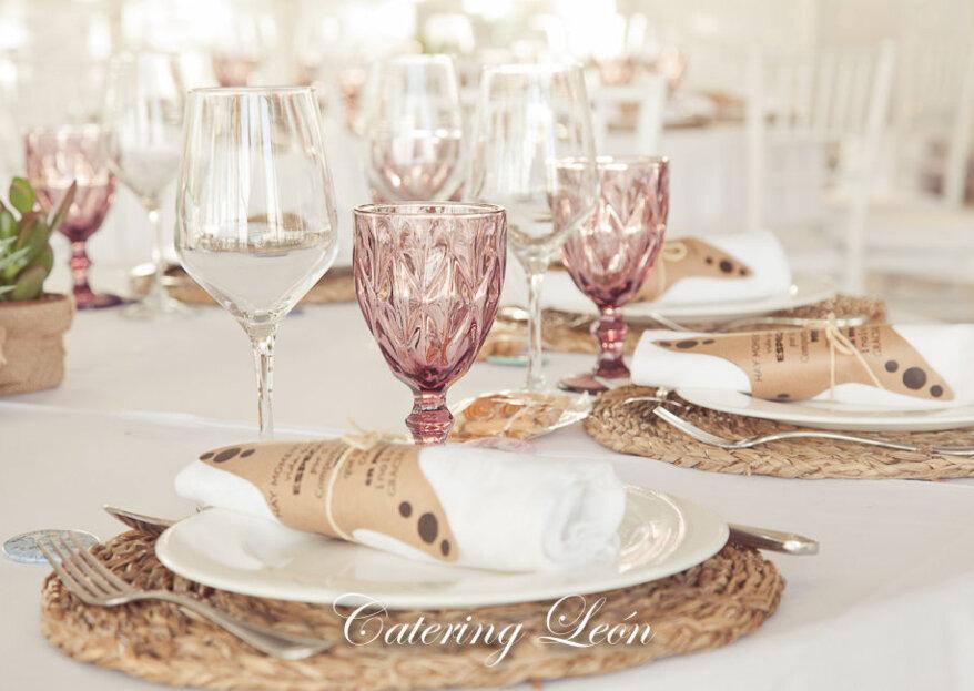 Catering León: flexibilidad y cercanía para elaborar tu menú de boda