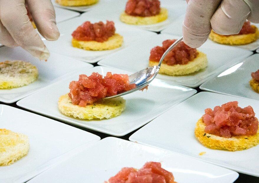 Come si elabora il menù per un matrimonio VIP? Ce lo svela lo staff di Graziano Catering
