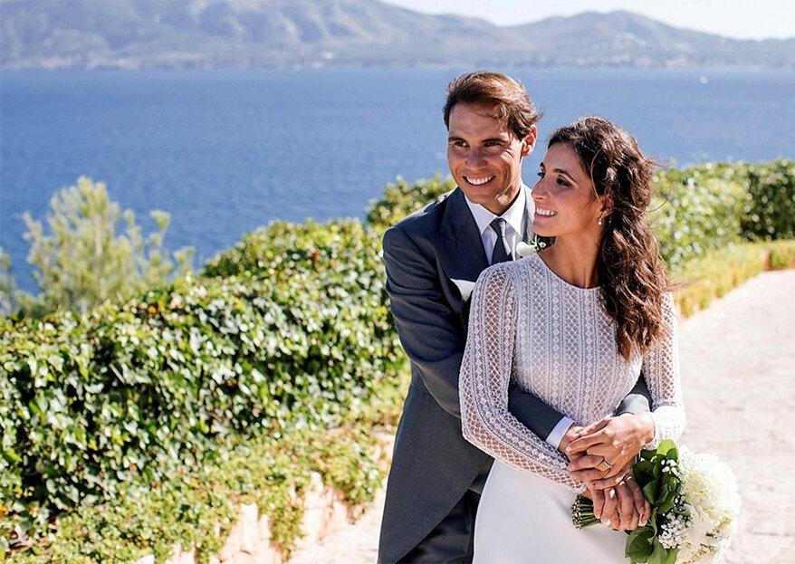 O casamento de Rafael Nadal & Mery Perelló: todos os detalhes!