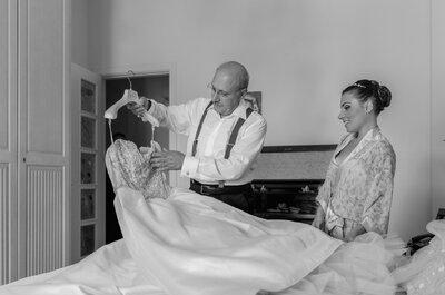 Sai cosa pensano DAVVERO papà e sposo nel giorno delle tue nozze?